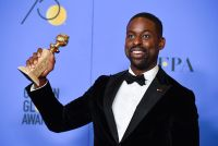 Sterling K. Brown at the 75th Golden Globes