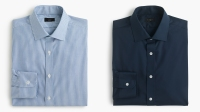 J.Crew's new Ludlow shirts are the brand's first offering sized for neck circumference and sleeve length.