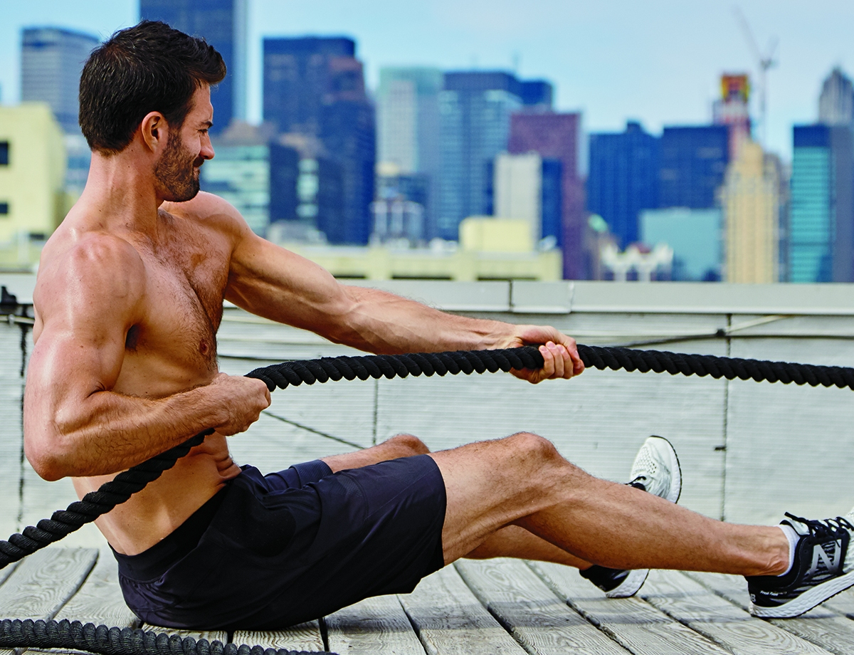 how to do the seated rope pull the ultimate upper body exercise