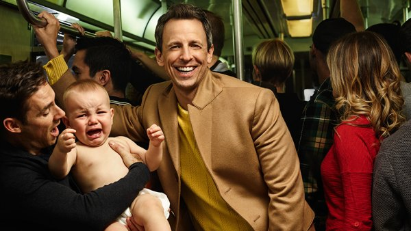 Seth Meyers photographed in New York City