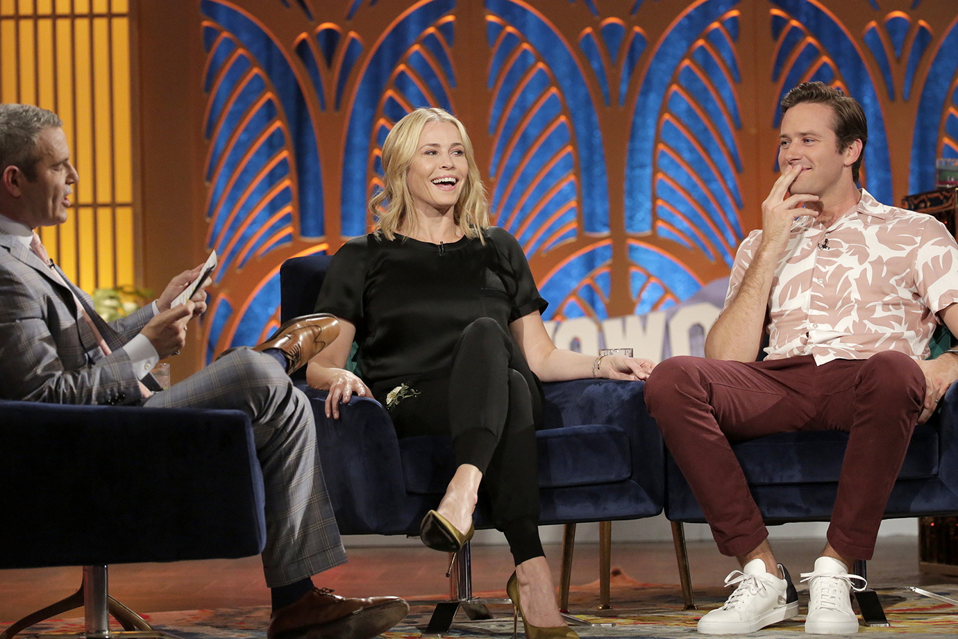 WATCH WHAT HAPPENS LIVE WITH ANDY COHEN -- Episode 14096 -- Pictured: (l-r)
