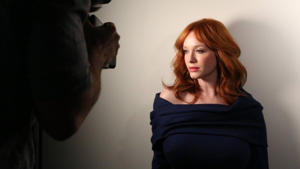 WEST HOLLYWOOD, CA - MAY 29: Actress Christina Hendricks poses for a portrait during the Variety Studio powered by Samsung Galaxy at Palihouse on May 29, 2014 in West Hollywood, California