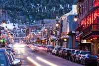 Main St. in Park City, Utah