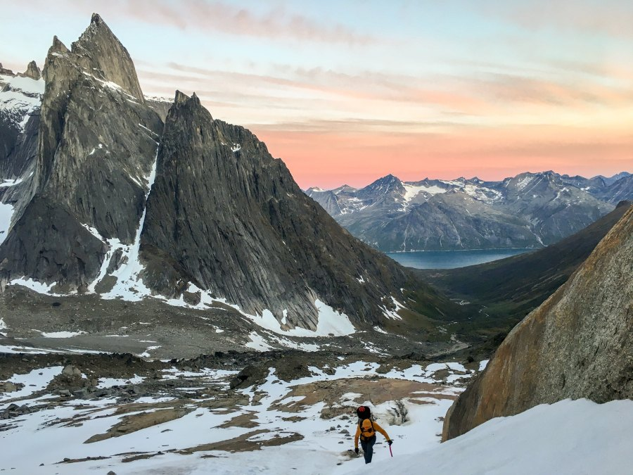 Ben Peters won a grant that sent him to Tasermiut Fjord in southeast Greenland