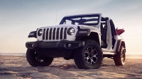 The 2018 Jeep Wrangler Rubicon photographed for the March 2018 cover of Men's Journal