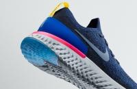 Close-up of Nike Epic React Flyknit
