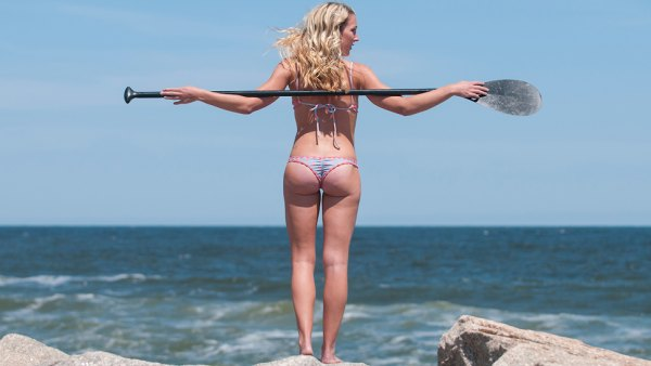 Erin McDaniel in North Carolina for the 2014 SUP Swimsuit Issue.