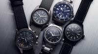 Titanium watches from Omega, Tudor, Bremont, Hamilton, and Bertucci