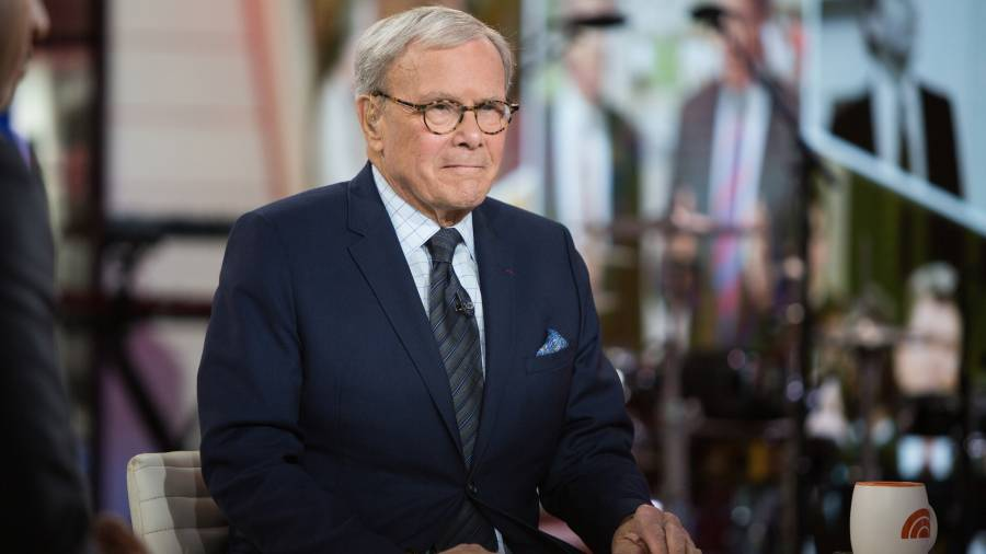 TODAY -- Pictured: Tom Brokaw on Thursday, Feb. 1, 2018