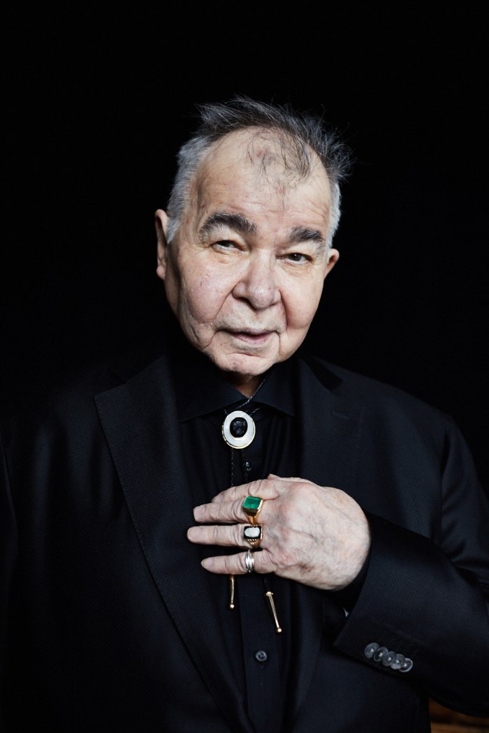American songwriter John Prine photographed by Danny Clinch for the April 2018 issue of Men's Journal