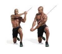 Best ab exercises to get a six-pack — Half kneeling chop
