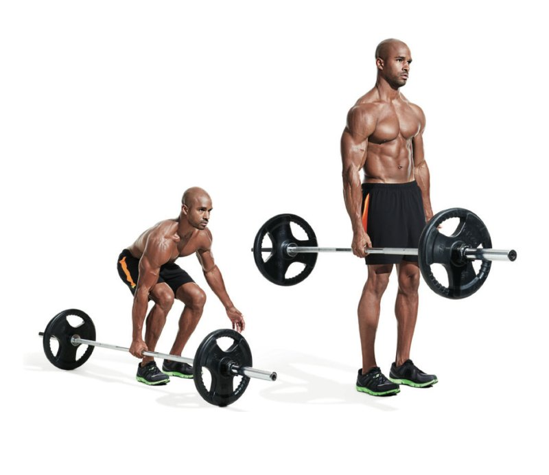 Best ab exercises to get a six-pack — Suitcase deadlift
