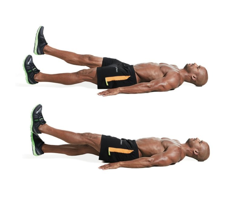 Best ab exercises to get a six-pack — Flutter kick
