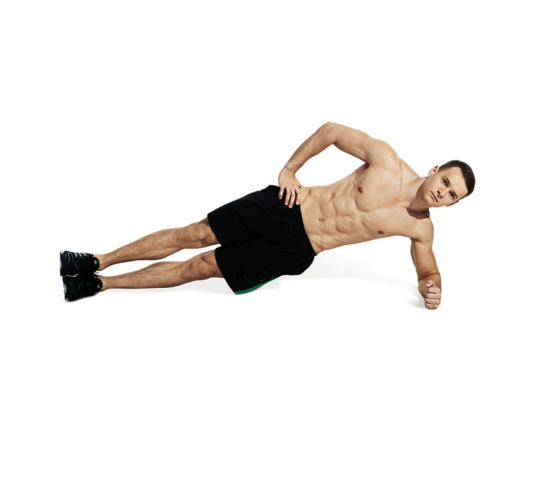 Best ab exercises to get a six-pack — Side plank