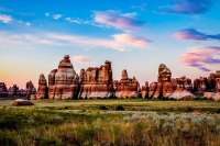 The Needles District of Canyonlands.
