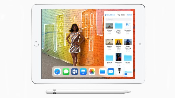 Apple's latest iPad got a series of major upgrades, including support for Apple Pencil.