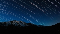 Wheeler Peak Star Trails
