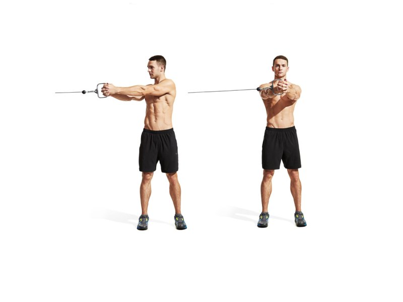 Best ab exercises to get a six-pack — Horizontal cable woodchop