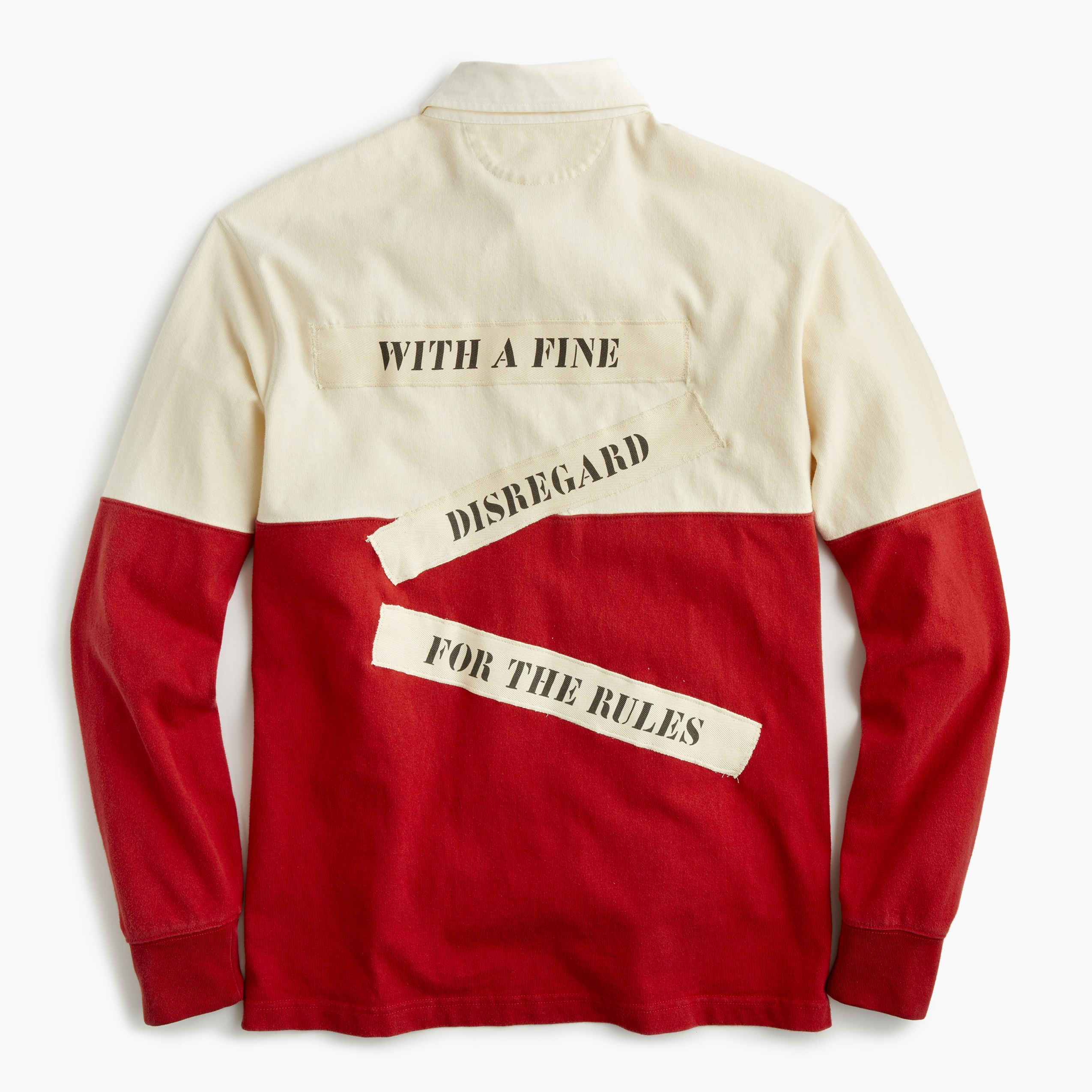 2fc879e52 J.Crew and Rowing Blazers Collaborate on a Heritage Rugby Shirt