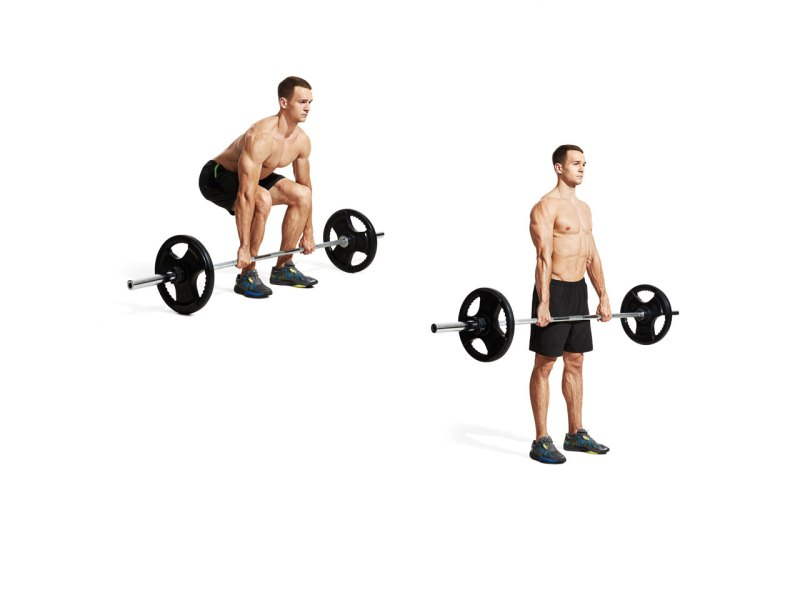 The 30 Best Back Exercises of All Time - Deadlift
