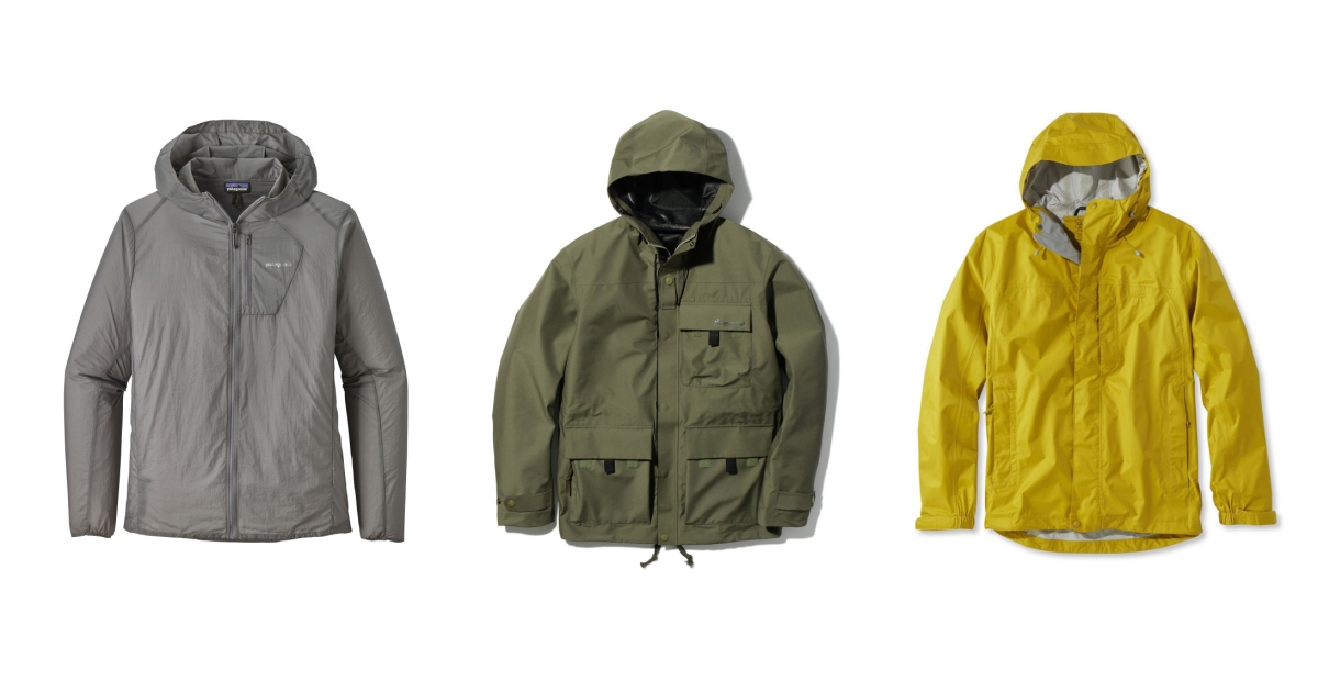 6904a3a9 The 20 Coolest Rain Jackets for Men: Spring 2018