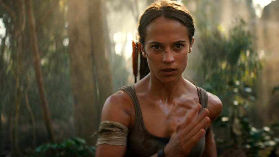 Tomb Raider tones down the sexiness and ramps up the
