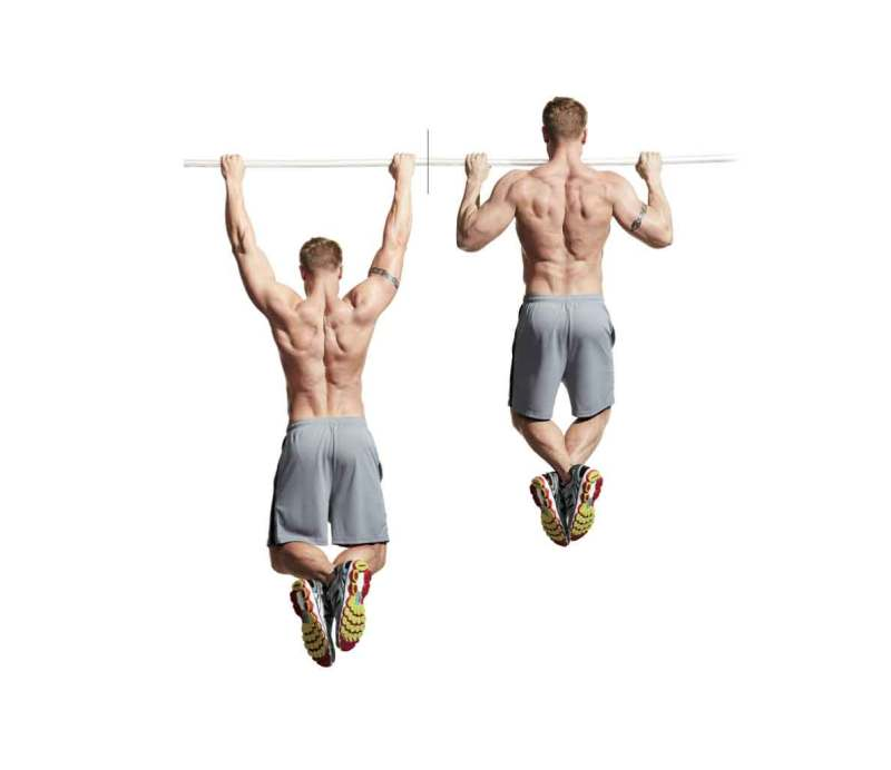 The 30 Best Back Exercises of All Time - Wide-Grip Pullup