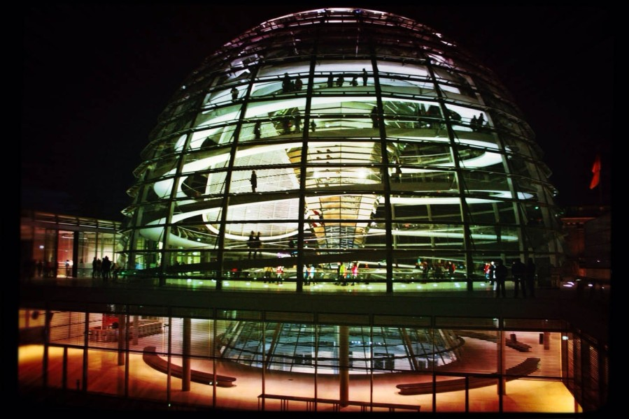 Berlin Travel Guide: The Reichstag building