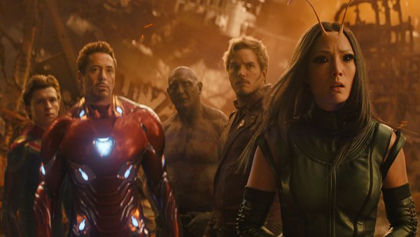 Avengers: Infinity War, Dave Bautista, Guardians of the Galaxy