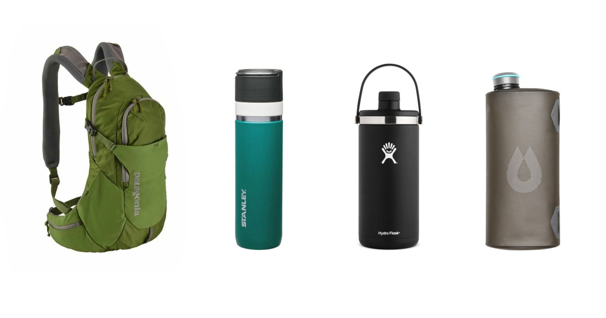 the 6 best new water bottles hydration packs and containers for 2018. Black Bedroom Furniture Sets. Home Design Ideas