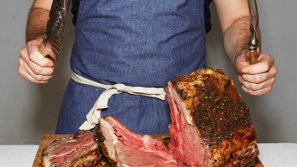 Carving a standing rib roast is one of the many cooking skills every guy should know.
