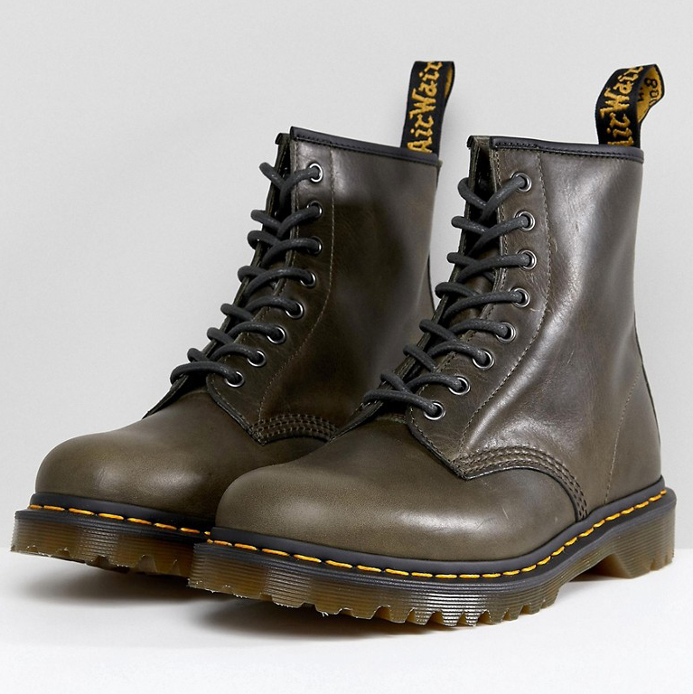 Dr Martens 1460 Washed Leather 8 Eye Boots
