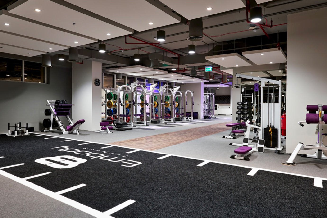 The most beautiful luxury gyms in the world