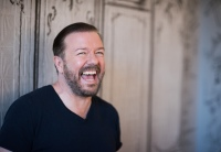 Ricky Gervais at AOL Build Speaker Series