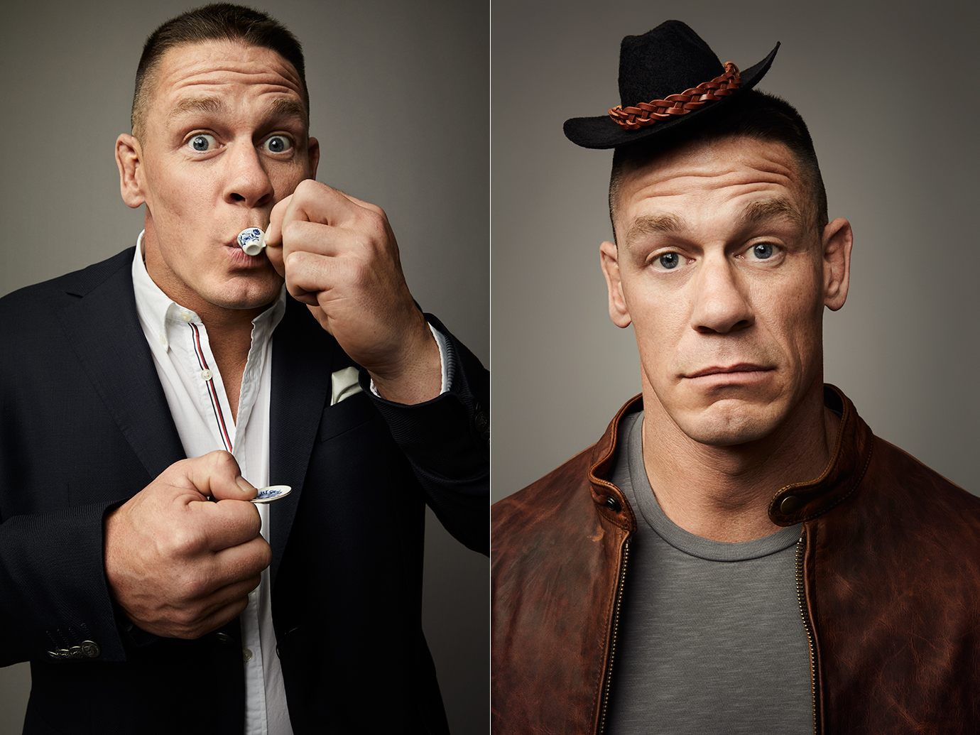 John Cena photographed for the May 2018 issue of Men's Journal by Art Streiber.