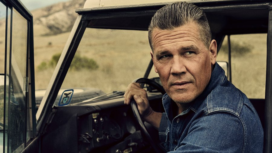 Josh Brolin photographed for the June 2018 cover of Men's Journal by Miller Mobley.