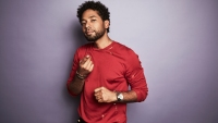 Jussie Smollett of FOX's 'Empire' poses for a portrait during the 2017 Summer Television Critics Association Press Tour at The Beverly Hilton Hotel on August 8, 2017 in Beverly Hills, California.