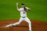 Justin Verlander #35 of the Houston Astros
