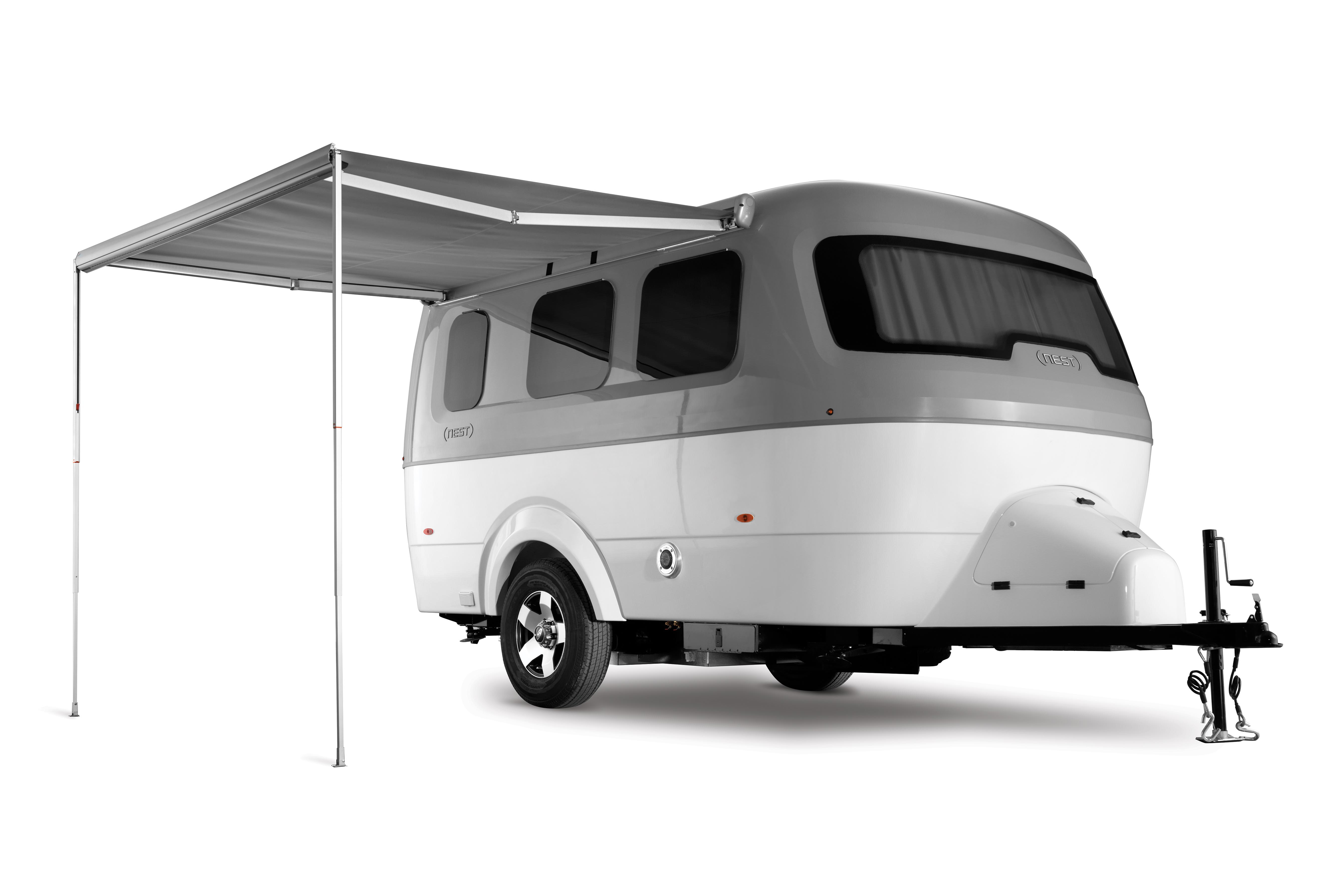 Airstream Nest Exterior with Awning