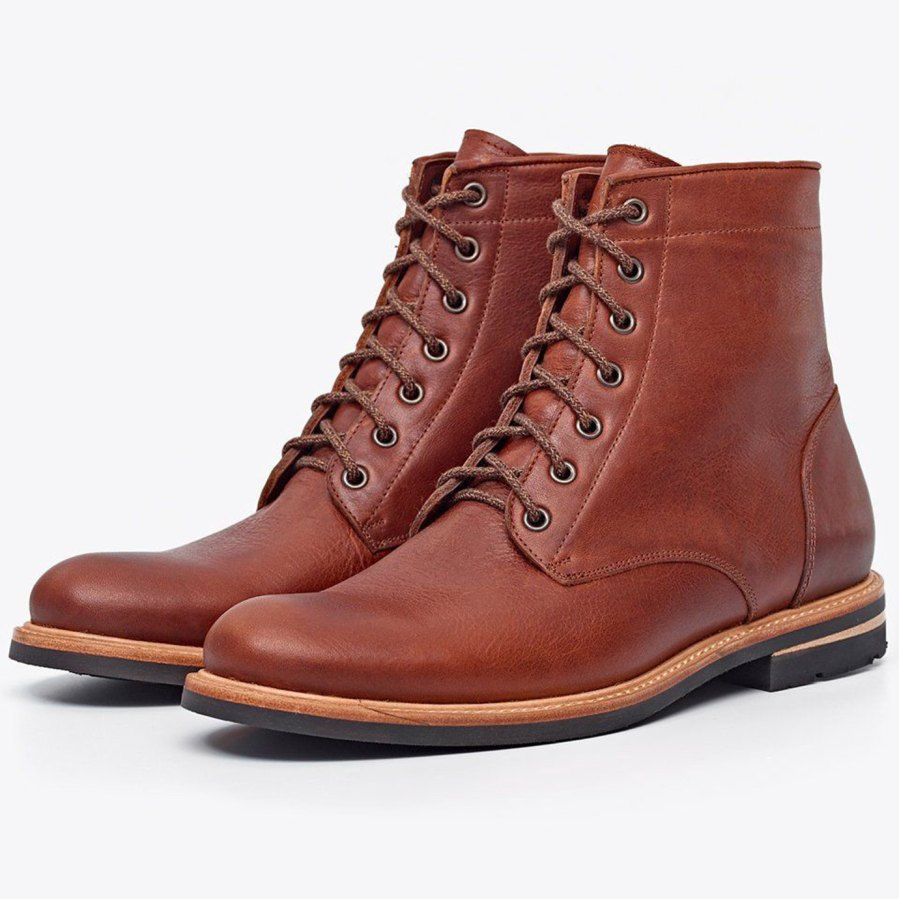 Nisolo Andres All Weather Boot Rust