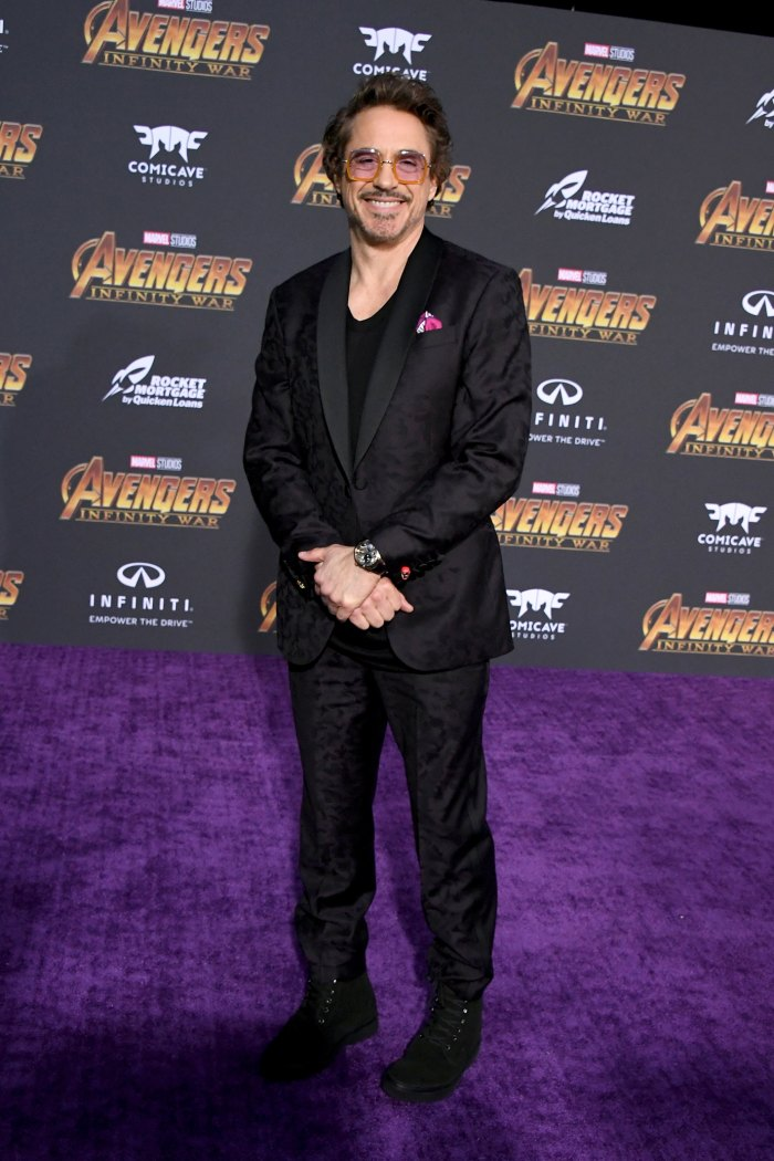 LOS ANGELES, CA - APRIL 23: Robert Downey Jr. attends the premiere of Disney and Marvel's 'Avengers: Infinity War' on April 23, 2018 in Los Angeles, California.