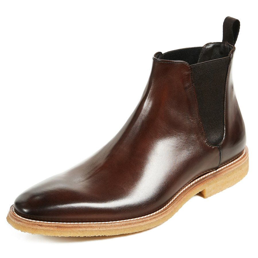 To Boot New York Atlas Leather Chelsea Boots