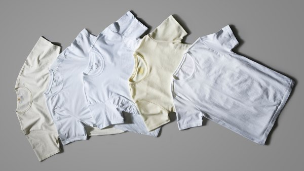 Upgraded white t-shirts from Mack Weldon, Olivers, Ministry of Supply and more.