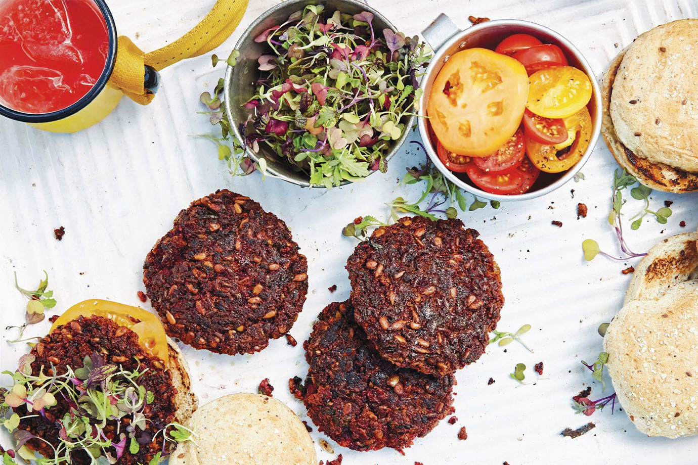 Recipe how to make the best veggie burger for your next camping trip forumfinder Images