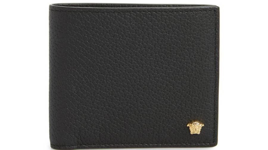 Versace First Line Leather Wallet