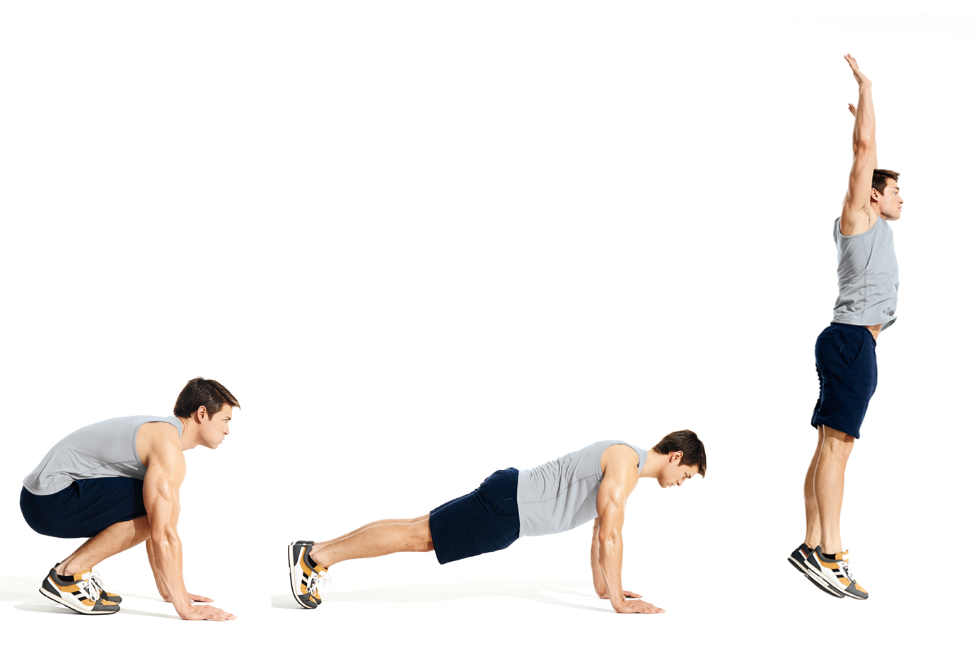 The Burpee Workout Thatll Shred Fat Fast