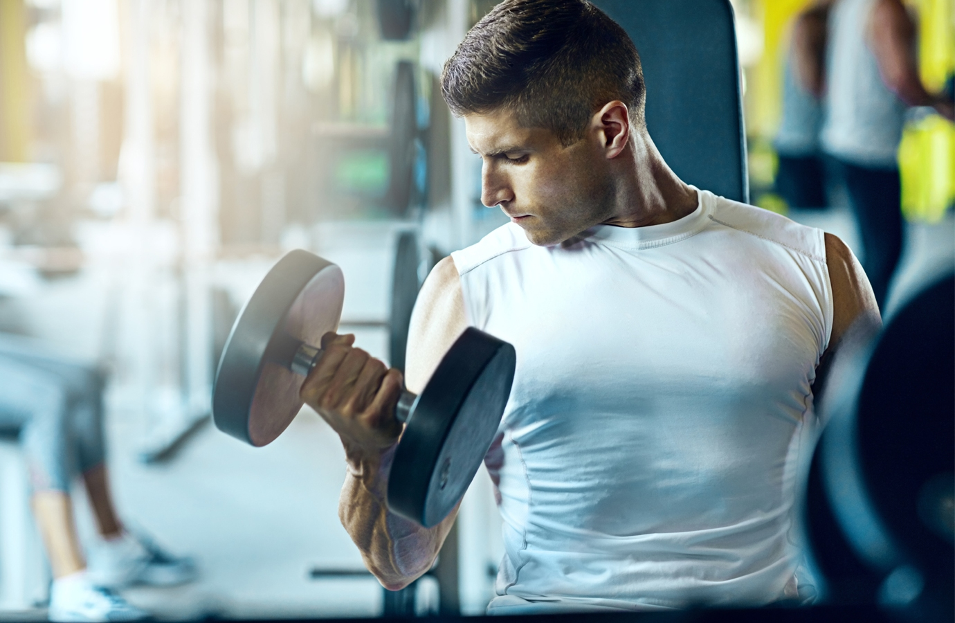 The Ultimate 15-minute Dumbbell Workout for Busy Guys