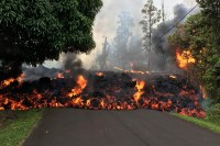 Kilauea Hawaii Volcano Eruption