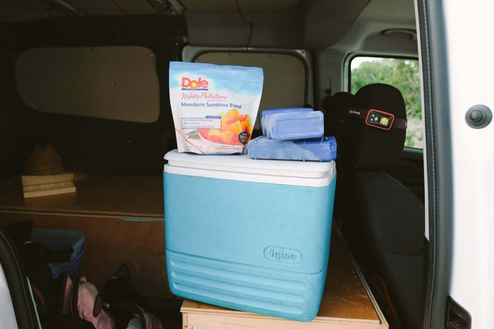 how to keep food fresh on the road