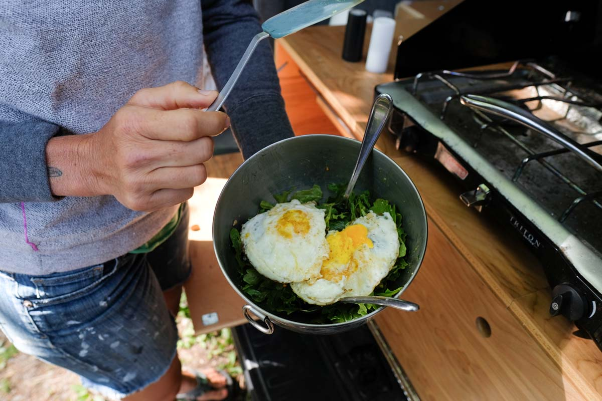 breakfast recipes on the road